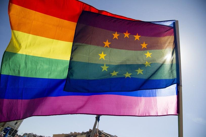 Znalezione obrazy dla zapytania flaga unia geje