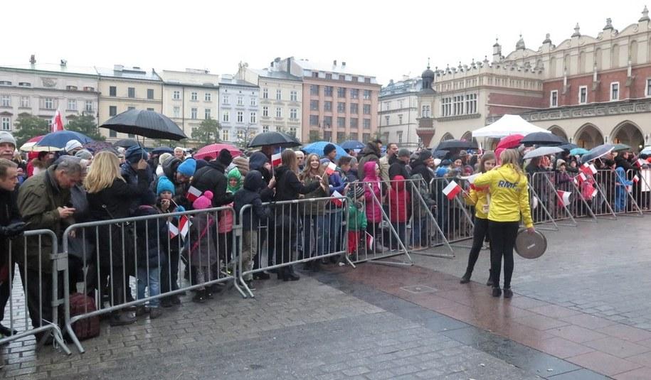 Zdj. z ubiegłorocznej akcji na krakowskim Rynku /Archiwum RMF FM