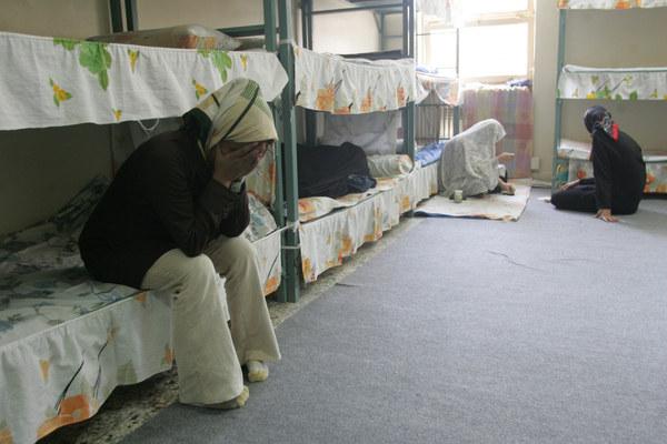 Zdjęć z Ewinu jest niewiele. Tu ujęcie z oddziału dla kobiet - reporterzy zostali wpuszczeni do pokazowych cel w 2006 roku /AFP