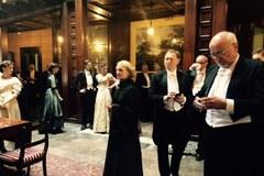 """Zdjęcia do """"Marii Curie"""" w łódzkim Pałacu Poznańskiego"""