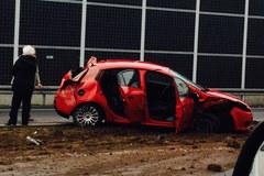 Zdjęcia z miejsca wypadku, które nadesłaliście nam na Gorącą Linię RMF FM