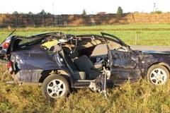 Zdjęcia z miejsca wypadku
