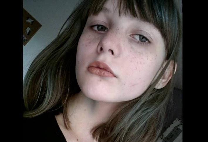 Zdjęcie 16-letniej Weroniki udostępnione przez policję /Policja