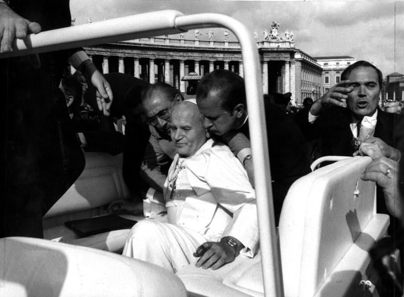 Zdjęcie archiwalne z 13 maja 1981 r. /Vatican/ Arturo Mari /REUTERS /FORUM