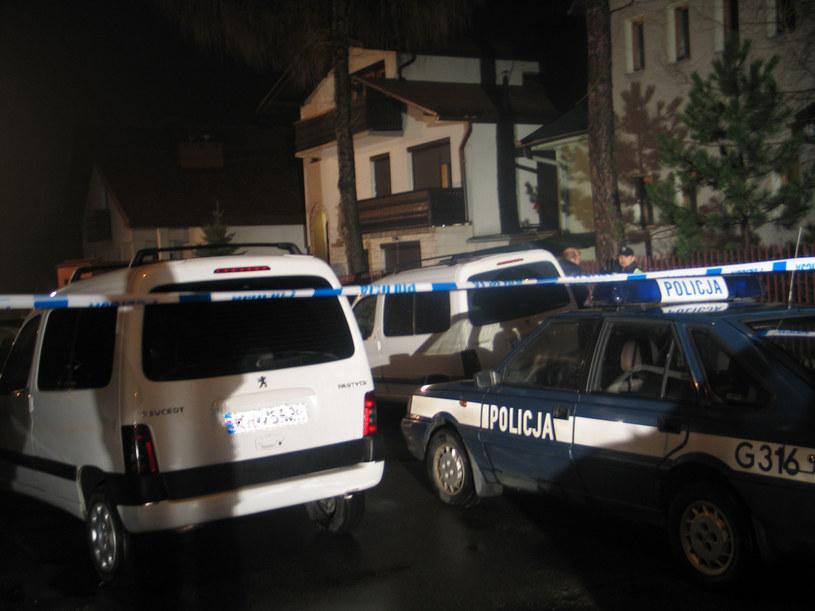 Zdjęcie archiwalne - zrobione w dniu napadu na kantor w Myślenicach w 2007 r.  /Archiwum RMF FM