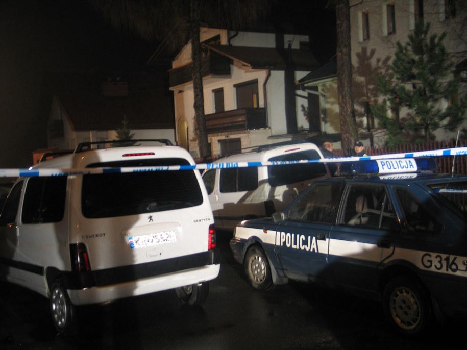 Zdjęcie archiwalne - zrobione w dniu napadu na kantor w Myślenicach w 2007 r.  /Maciej Grzyb  /RMF FM