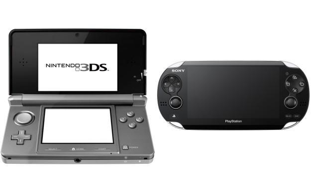 Zdjęcie konsoli Nintendo 3DS oraz Sony Next Generation Portable /Informacja prasowa