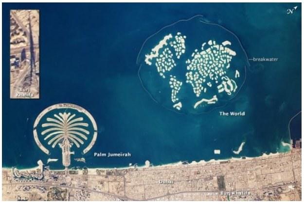 Zdjęcie niszczejących wysp świata zostało wykonane 13 stycznia/fot. William L. Stafanow, NASA /Kopalnia Wiedzy