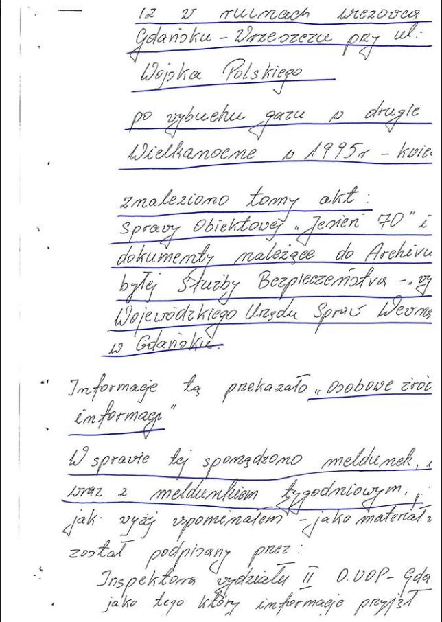 Zdjęcie pochodzi z profilu Sławomira Cenckiewicza /facebook.com