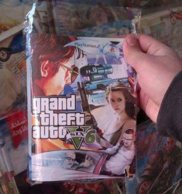 Zdjęcie prezentujące okładkę GTA VI zamieszczoną w serwisie Reddit przez użytkownika NeetoPp /materiały źródłowe
