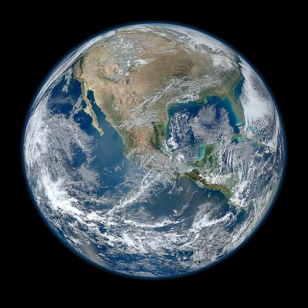 Zdjęcie satelitarne Ziemi /AFP