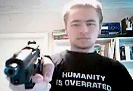 Zdjęcie sprawcy masakry, który w serwisie YouTube ukrywał się pod pseudonimem Sturmgeist89. /AFP