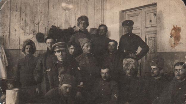 """""""Zdjęcie wykonane prawdopodobnie w 1920 r. Józef Dubiński w prawym dolnym rogu"""" /Archiwum autora"""