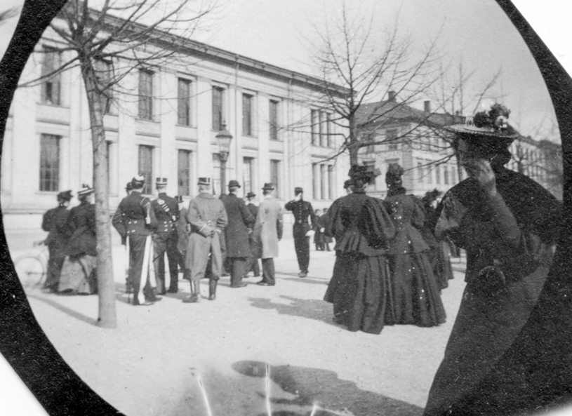 Zdjęcie wykonane przez Carl Størmera, okolice 1893 do 1897 roku. FOT. Digitaltmuseum.no /materiały prasowe