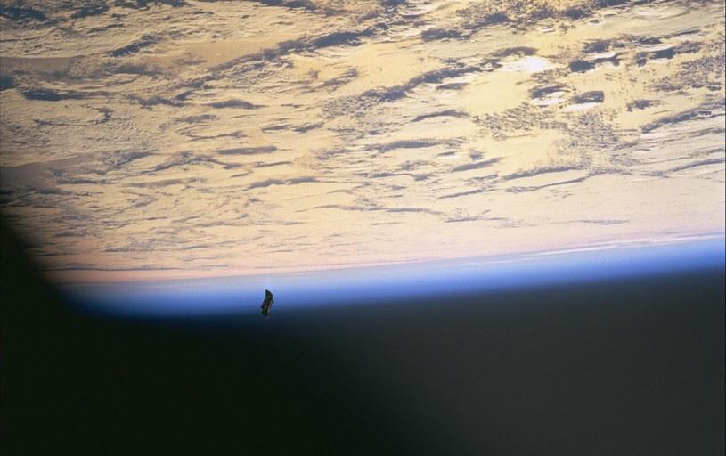 Zdjęcie wykonane z trakcie trzynastej misji wahadłowca Endeavour /NASA