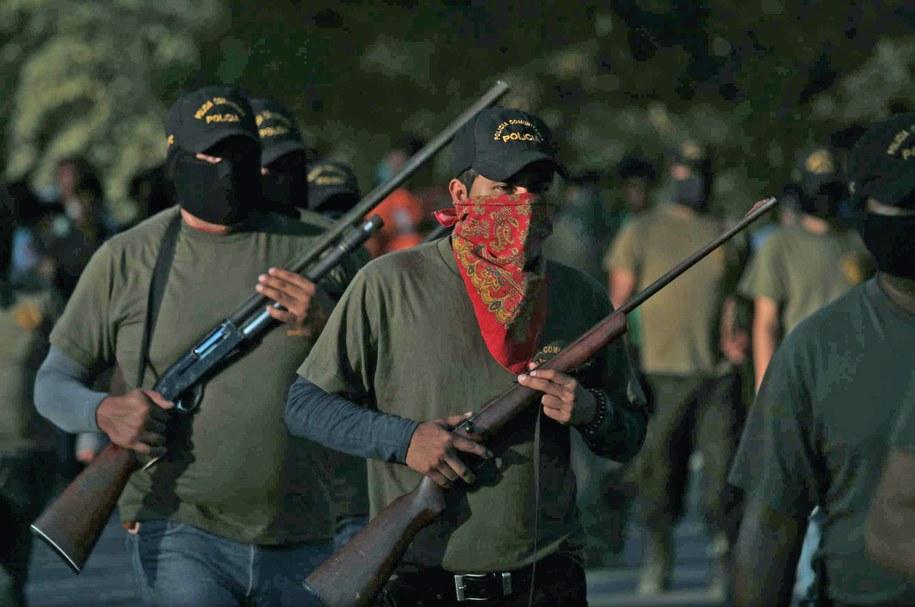 Zdjęcie z jednej z demonstracji /Jose Luis de la Cruz /PAP/EPA