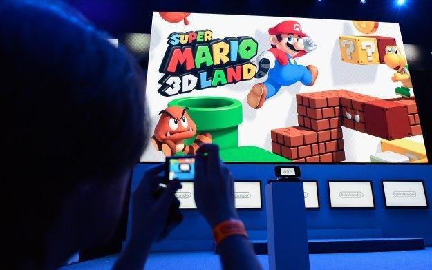 Zdjęcie z konferencji Nintendo /AFP