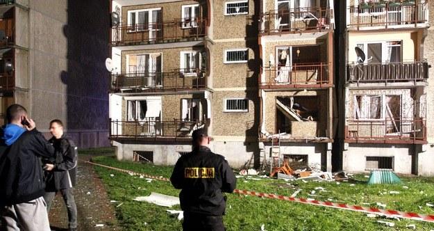 Zdjęcie z miejsca wypadku /Andrzej Grygiel   (PAP) /PAP