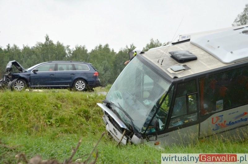 Zdjęcie z miejsca wypadku /WirtualnyGarwolin.pl /