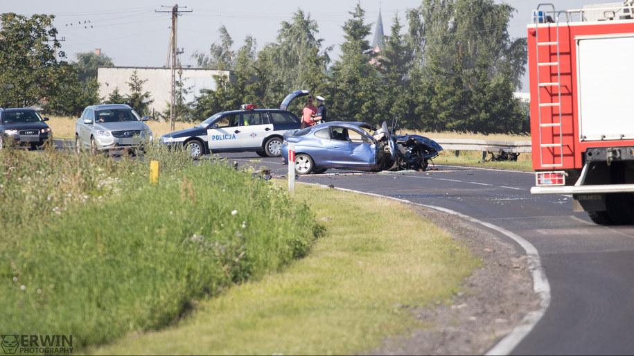 Zdjęcie z miejsca wypadku /fb.com/erwinphotopl /