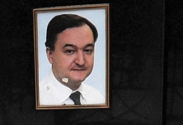 Zdjęcie z nagrobka Siergieja Magnitskiego /AFP