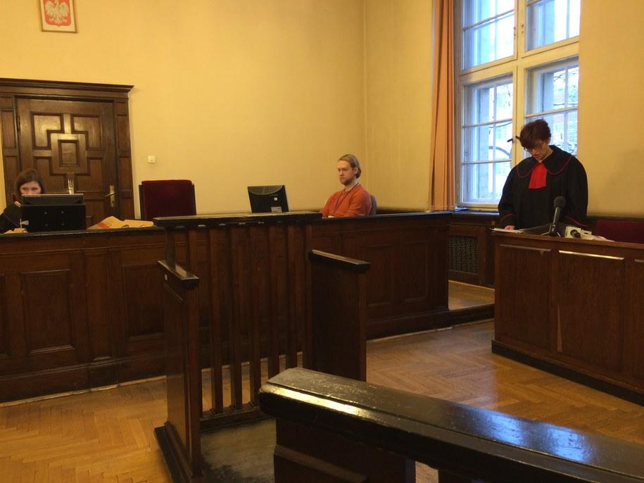Zdjęcie z sali sądowej /Kuba Kaługa /RMF FM