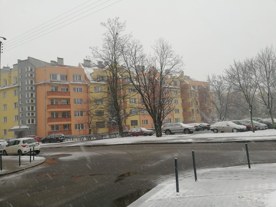 Zdjęcie z Wrocławia, które dostaliśmy od pani Joanny /Gorąca Linia RMF FM /