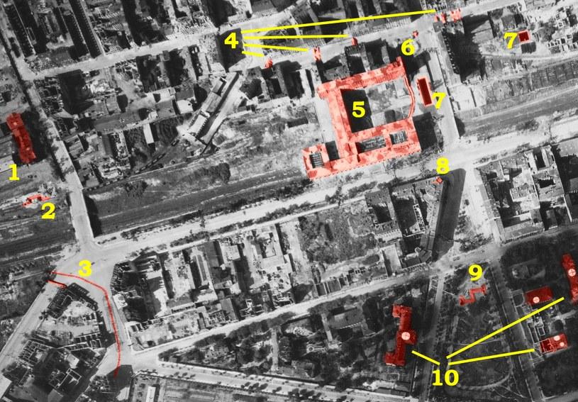 Zdjęcie zostało wykonane 30 sierpnia 1944 roku o godzinie 15:15 /S. Różycki/NARA/Odkrywca /Odkrywca