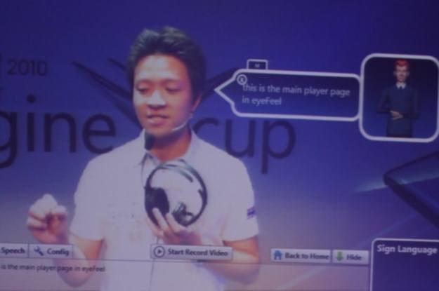 Zdobywcy najważniejszej nagrody - tajski zespół Skeek i ich projekt eyeFeel /INTERIA.PL