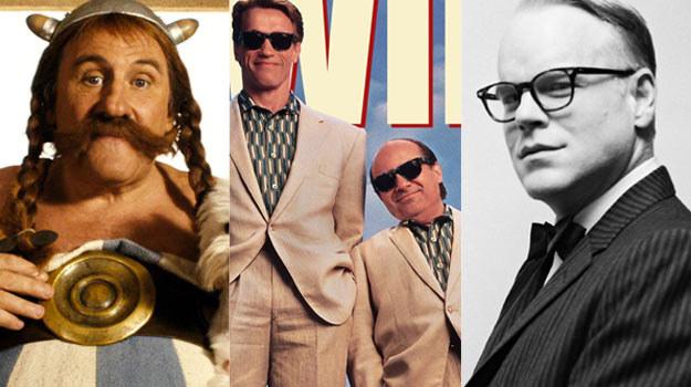 Zdolni brzydale: Gerard Depardieu, Arnold Schwarzenegger i Danny DeVito oraz P.S. Hoffman /materiały prasowe