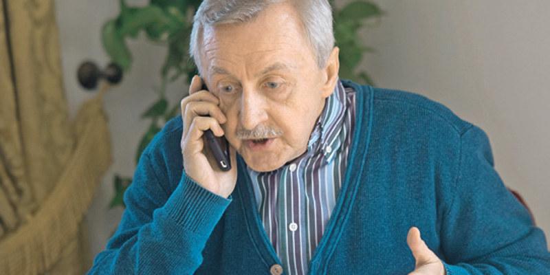 Zdybicki będzie się dopytywał telefonicznie, kiedy może odwiedzić córkę /Świat Seriali