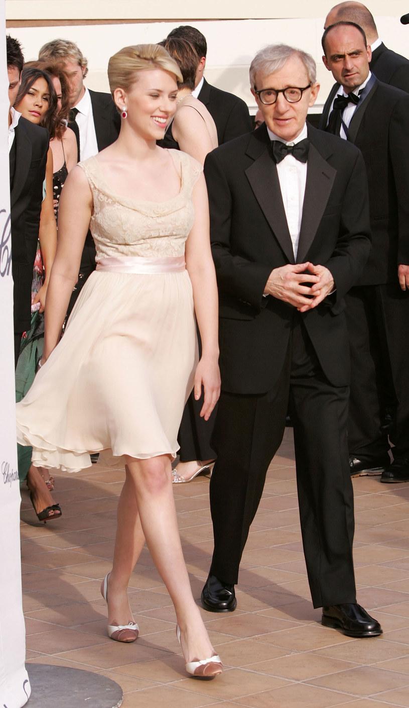Ze Scarlett Johansson. – Jest jedną z najlepszych młodych aktorek – mówi Allen /Getty Images/Flash Press Media