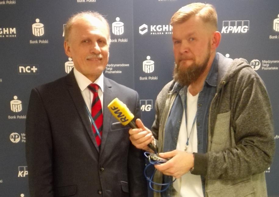 Ze Sławomirem Pietrzakiem rozmawiał dziennikarz RMF FM Tomasz Staniszewski /RMF FM