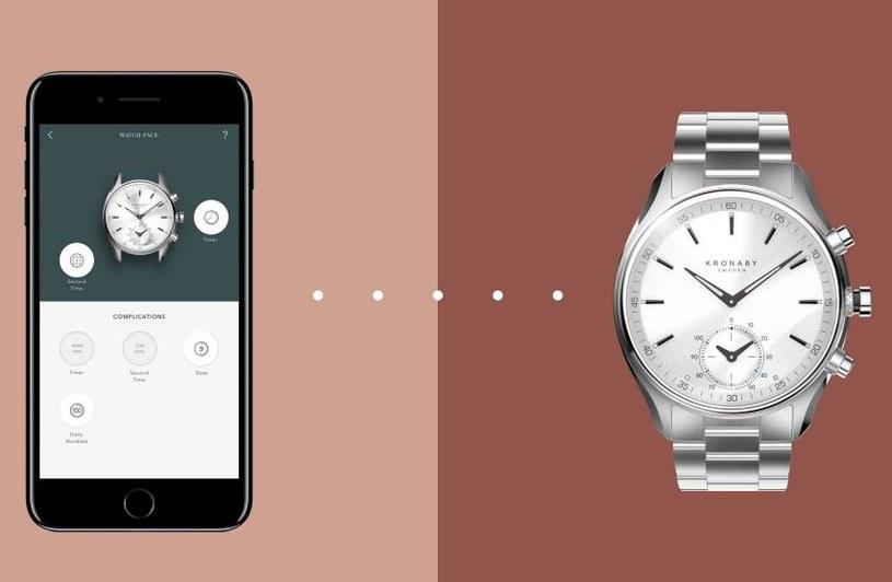 Zegarki Kronaby są połączeniem klasycznego wyglądu i nowej technologii /materiały prasowe