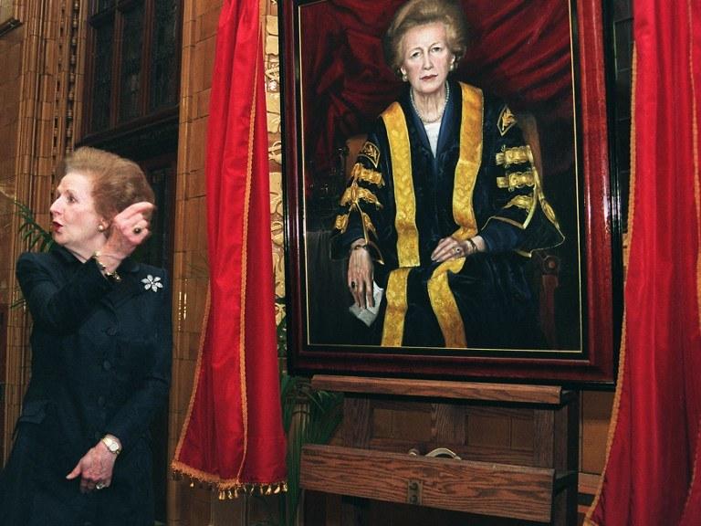 """""""Żelazna Dama"""" Margaret Thatcher nie żyje /AFP"""