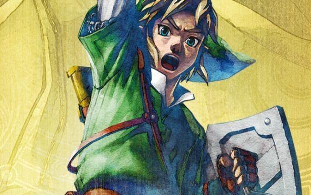 Zelda: Skyward Sword - motyw graficzny /Informacja prasowa