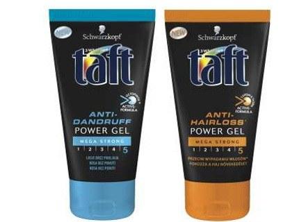 Żele do włosów Taft Power /materiały prasowe