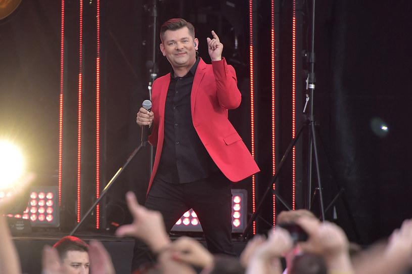 Zenon Martyniuk podczas Jubileuszowej Gali 25 lat Disco Polo /Jacek Kurnikowski /AKPA