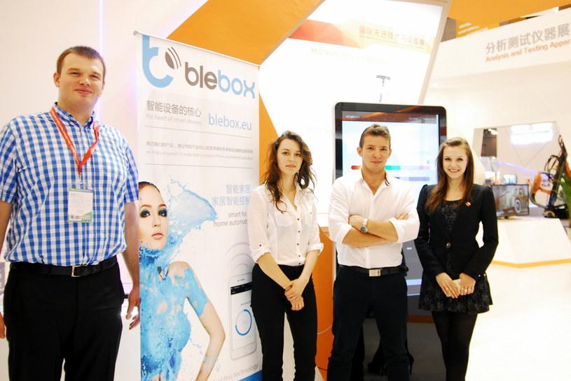Zespół Blebox.eu - zdjęcie z prezentacji moduł uWiFi w chińskim Chengdu /materiały prasowe