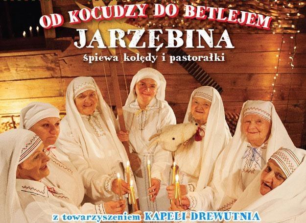 Zespół Jarzębina na okładce płyty z kolędami /