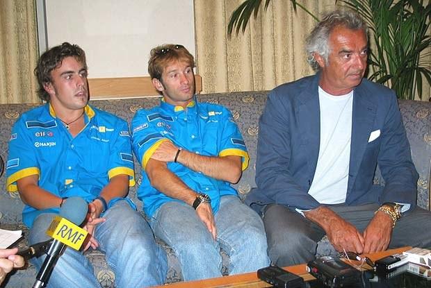 Zespół Renault F1 (kliknij) /INTERIA.PL