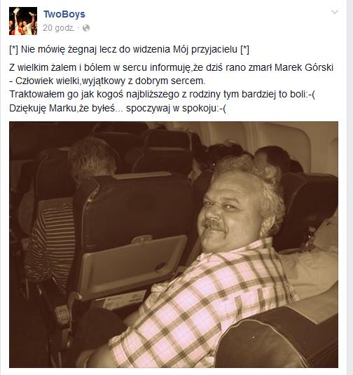 Zespół TwoBoys na Facebooku /