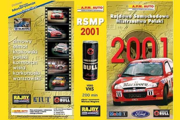 Zestaw dwóch kaset z podsumowaniem sezonu rajdowego 2001 był nagrodą w styczniu (kliknij) /INTERIA.PL
