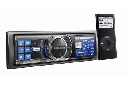 Zestaw IDA-X001 i iPod Alpine Nano 2GB / Kliknij /
