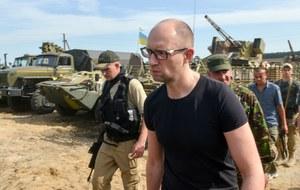 Zestrzelony samolot: Premier Ukrainy zabrał głos