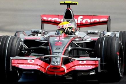 Zeszłoroczny McLaren MP4-22 / Kliknij /AFP