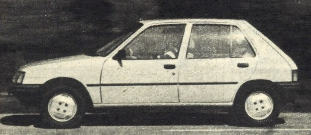 Zgodnie ze starą tradycją francuską, Peugeot 205 GRD ma układ czterodrzwiowy i, jako mała kombi-limuzyna, otwieraną klapę tylną obejmującą okno. /Motor