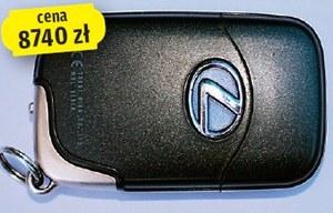 Zgubienie kluczyków do Lexusa IS wiąże się z astronomicznym wydatkiem 8740 zł. (kliknij, żeby powiększyć) /Motor