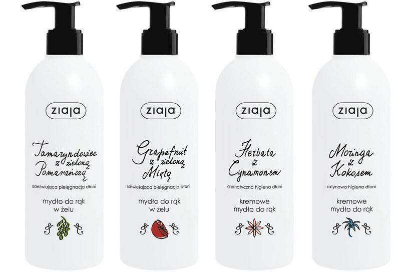 Ziaja: Kremowe mydła do rąk /materiały prasowe