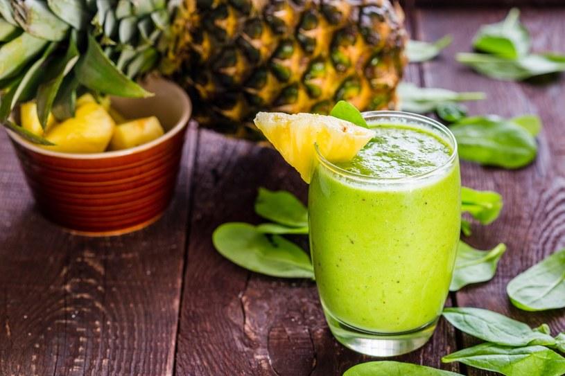 Zielone smoothie /materiały prasowe